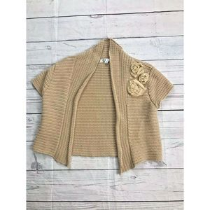 Cabi Women's Size Medium Regular Tan #294 Cardigan